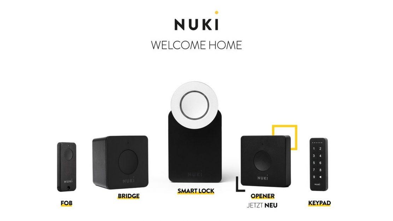 Produktportfolio Nuki