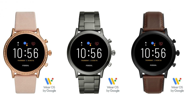 Die Fossil Q Smartwatches der 5. Generation