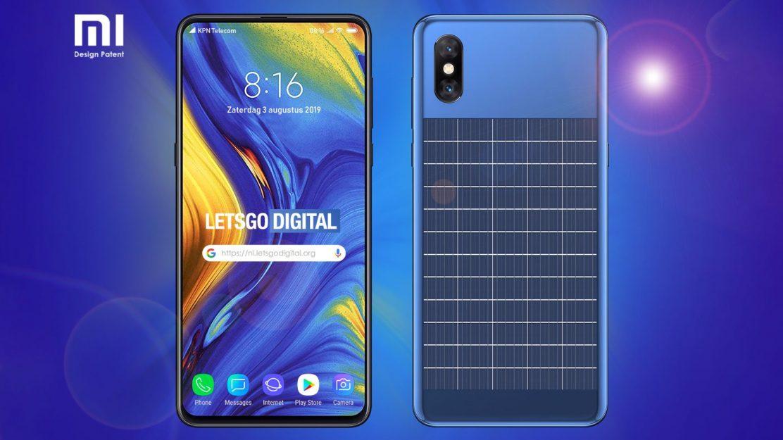 Xiaomi Smartphone mit Solarzellen Beitragsbild