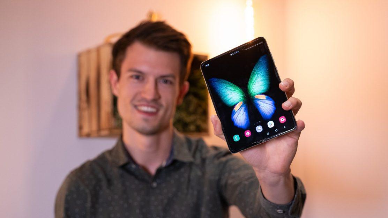 Samsung Galaxy Fold Titelbild