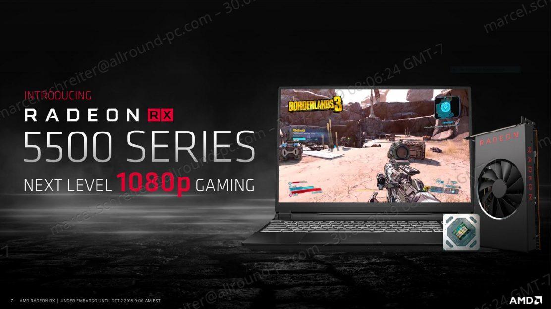 AMD Radeon 5500 Beitragsbild
