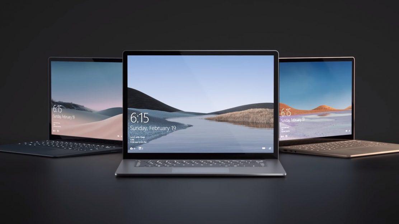 Microsoft Surface Laptop 3 Titelbild
