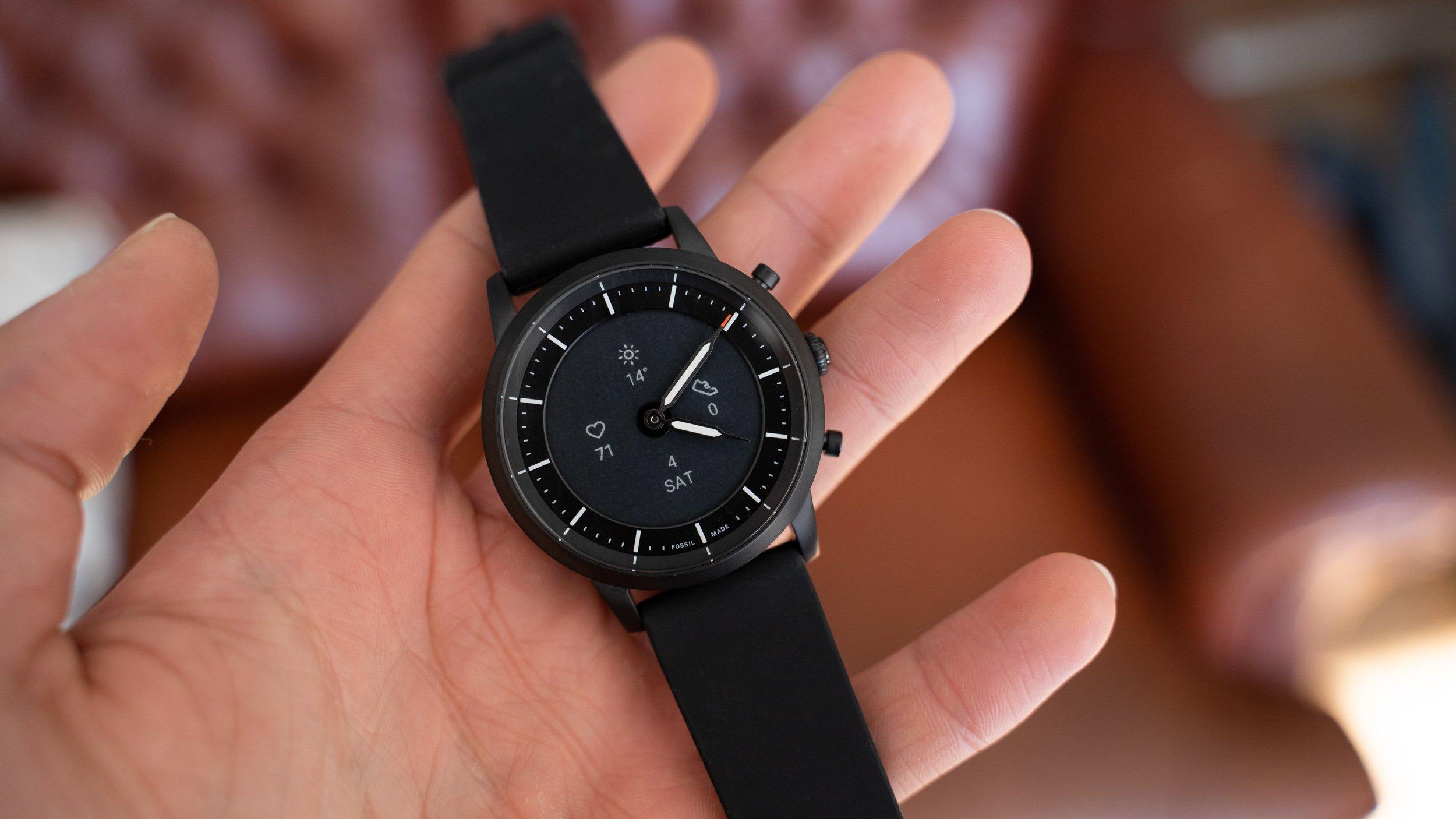 Fossil Collider Hr Im Test Hybrid Smartwatch Mit E Ink Display