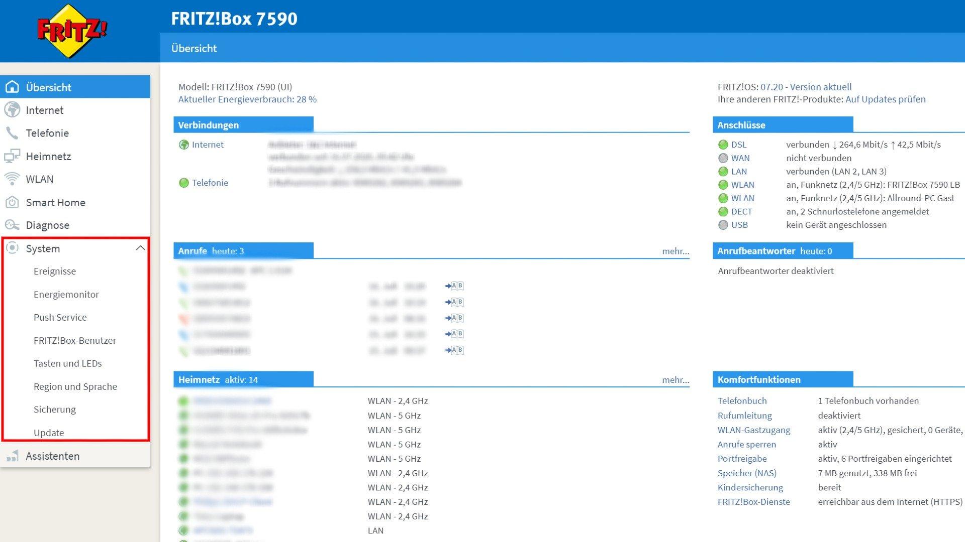 Anleitung FRITZOS Firmware auf der FRITZBox updaten