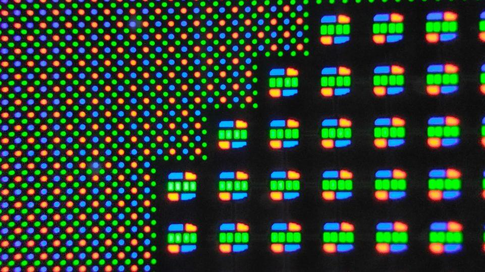 Subcámara de matriz de píxeles variable (3 veces)